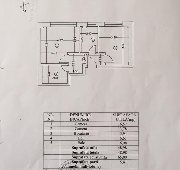 Vanzare apartament, 2 camere, in Sector 1, zona Dorobanti