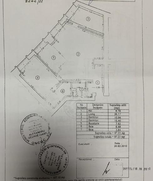 De vanzare apartament, 3 camere, in Sector 2, zona Ferdinand