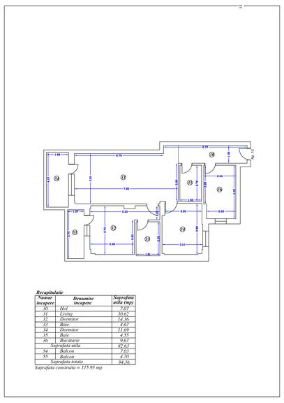 De vanzare apartament, 3 camere, in Sector 2, zona Eminescu